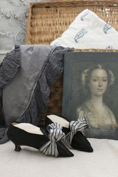 #gorgeous #rococo #18th century #shoes #heels #fashion