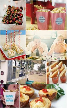 This is the 2nd post on Food Trucks! Sooo excited it's such an incredible idea!! Makes everyone happy!!    2012 Wedding Reception Ideas: Food Truck Trend