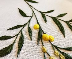 *Commande personnalisée * Mimosa ❤ . . . . . . . . . . . #mimosa #yellowflower #douceur #leave #sweetness #feuilles#botanique #botanic #nature #plante #plant #greenlife #handembroidery #embroidery #embroideryart #broderie #broderiemain #handmade #faitmain #brodeuse #embroiderer #embroidered #bordado #madeinfrance #delphil #tatoueusedetissu #modernembroidery #contemporaryembroidery #embroideryinstaguild #embroiderylove