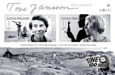 Tove Jansson 100 years. The creator of Moonins - Posti