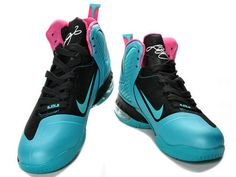 Nike LeBron 9 South Beach   Style code:469764-004, It features the same colorways as lebron 8 south beach. But there are some new technologies applied to the sneaker. The hyperfuse and flywire design make it much more lightweight, stable and breathable. The max air 180 unit was applied to rear sole and the forefoot pervades zoom air, which enhance the cushion and support.