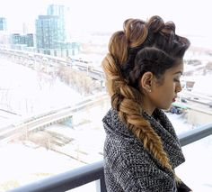 Funky combination braid.