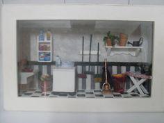 Miniatura Lavanderia | Adriana Monteiro Artes e Bordados | 18B9C1 - Elo7