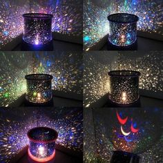 LED Starry Sky Projection Lamp Night Light Moon Star Master Halloween Christmas Gifts for Kids. User-Friendly: The night light might be great gadget for infants, kids or teenagers, but it's also wonderful for adults who love gorgeous starry sky.
