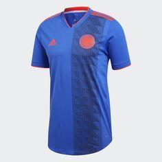 028178028a517 adidas Camiseta Auténtica Selección Colombia Visitante - Azul