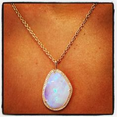 Marcy Miller Magical Opal Pendant
