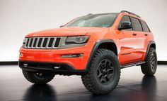 Too bad it's only a concept. I'd drive this. Might start by building up a 2014 Laredo.