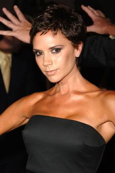 Get inspired by Victoria Beckham's pixie cut: