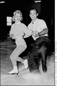 dick button skating pictures | Sonja Henie and Dick Button Figure Skating