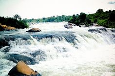 Bujagali Falls, Jinja, Uganda - these falls are no more because of the hydro-electric dam.
