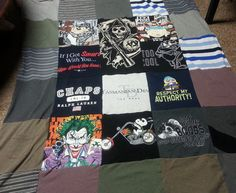 In Remembrance - Project Repat t shirt quilt