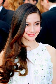 Angelababy in DIOR Spring 2014 Couture #Cannes2014