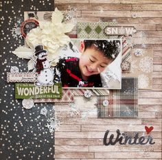 Winter2014 - ScCarta Bella Paper - Warm and Cozy Collection - Christmas - 12 x 12 Double Sided Paper - Blizzard  http://www.scrapbook.com/gallery/image/layout/5262577.html#tS3vMFWz2lvWDxUL.99