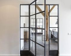 20150825-114834-28177786-01 Interior Concept, Modern Interior Design, Steel Doors And Windows, Inside Doors, Folding Doors, Window Frames, Home Deco, Home Projects, New Homes