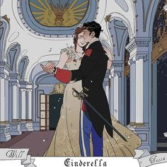 """cassandraclare:""""Will and Tessa as the Prince and Cinderella in Cassandra Jean's Shadowhunters and fairytales mashup book! Swipe left to find out how you can get a fairytale book for free with Queen of Air and Darkness – or check out how-to at. Cassandra Jean, Cassandra Clare Books, Jace Lightwood, Clockwork Princess, Clockwork Angel, Cassie Clare, Shadowhunters The Mortal Instruments, Fanart, The Dark Artifices"""