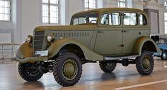 Рассказываем про уникальный автомобиль времен середины ХХ века из СССР - ГАЗ 61. Читайте на мужском портале Stone Forest.