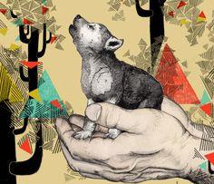 As ilustrações lúdicas de Sandra Dieckmann