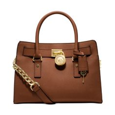 Michael Kors Hamilton East/West Saffiano Satchel Saffiano Luggage >>> Be sure to check out this awesome product. (This is an affiliate link) #MichaelKorsHandbags