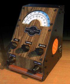 Radio a reazione onde corte Radios, Radio Design, Ham Radio, Diy, Workplace, Steampunk, Instruments, Ideas, Electronic Circuit