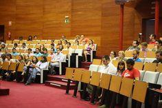 Imagen del salón de actos con los asistentes a #Catasytuits. Ni el twittercrack pudo con ellos!