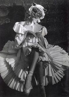 Masked dancer, 1930's by Brassai