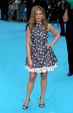 Las mejor vestidas de la semana  - Jennifer Aniston - Dior