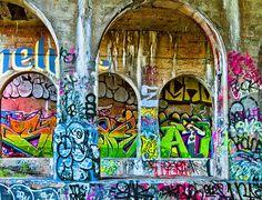 Dequindre Cut Grafitti