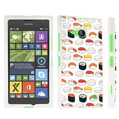 DuroCase ® Nokia Lumia 735 / Lumia 730 Dual SIM Hard Case White - (Sushi) DuroCase http://www.amazon.com/dp/B00UAHMQFK/ref=cm_sw_r_pi_dp_xYZ6vb1T130JS