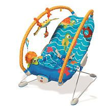 Tiny Love Gymini Bouncer Under the Sea  Blue/Yellow