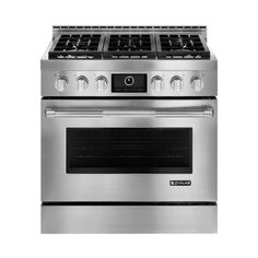 Ft. Freestanding Gas Convection Range   Stainless Steel