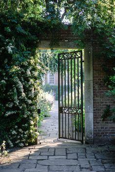Garden Gate - Cottesbrooke Hall Gardens, England