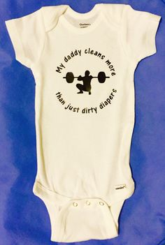 A personal favorite from my Etsy shop https://www.etsy.com/listing/246954932/crossfit-baby-crossfit-onesie-baby