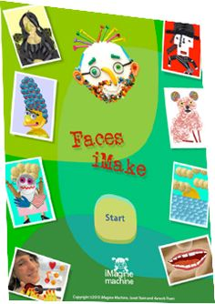Faces iMake - Appropriate for younger students, this app uses a creative mix of collage materials inspired by author and artist Hanoch Pivin. Upgrade to the premium version for additional features. $.99