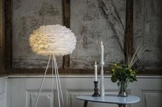Eos Feather Floor Lamp