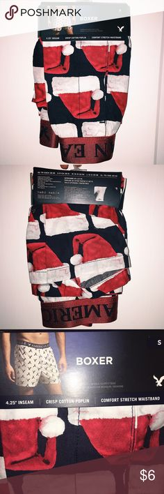 """MENS AMERICAN EAGLE BOXERS •SMALL MENS AMERICAN EAGLE BOXERS •SMALL *High quality •Stretch Waistband •4.25"""" Inseam •BRAND NEW American Eagle Outfitters Underwear & Socks Boxers"""