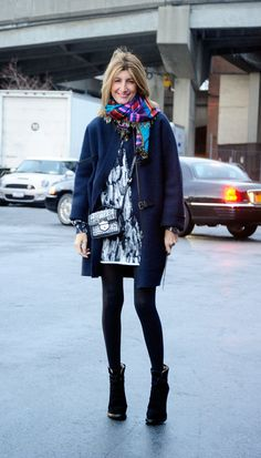 Fashion Week Street Style: Winter Dressing Ideas | Pictures Photo 1