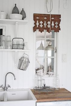 a beautiful vintage style kitchen -full of nostalgia and visual story telling