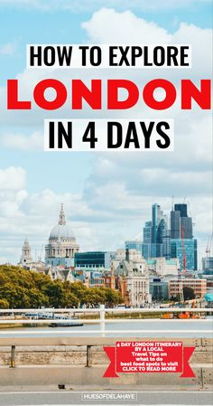 Want to know what to do in London in 5 days? This 5 days in London itinerary is packed with the best things to do and see - tourist hubs and hidden gems! Europe Travel Guide, Travel Guides, Travel Destinations, Travelling Europe, Holiday Destinations, London Travel, Travel Uk, Hawaii Travel, Italy Travel