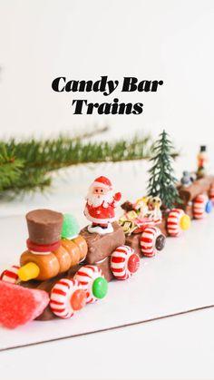 Christmas Candy Crafts, Christmas Snacks, Christmas Goodies, Holiday Treats, Christmas Baking, All Things Christmas, Holiday Parties, Holiday Fun, Christmas Holidays