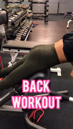 Bodybuilding Gym Back Workout – IG for free daily workouts Toned and tighten your back with these weighted back exercises. Using dumbbells, plates and cable machines to get a killer back workout. Killer Back Workout, Gym Back Workout, Fitness Workouts, At Home Workouts, Daily Workouts, Body Fitness, Fitness Goals, Fitness Diet, Fitness Bodybuilding