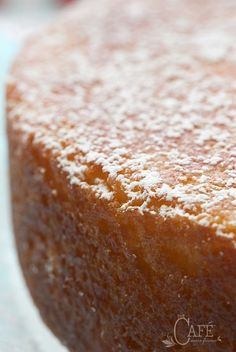 French Grandmother's Lemon Yogurt Cake - thecafesucrefarine.com