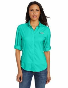 Long sleeve shirt (Columbia Sportswear): Light and breathable, great of cool evening or protect from burring during the day