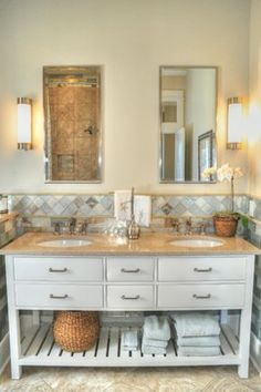 "2012 Tidewater Builder Association ""Best of Show' Award Winner - traditional - bathroom - richmond - Allison Ramsey Architects"