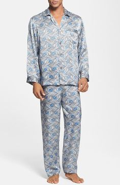b4a1071be5 Free shipping and returns on Majestic International  Cypress  Silk Pajamas  at Nordstrom.com