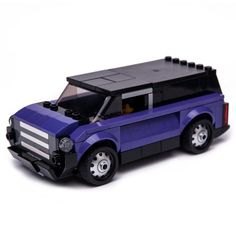 LEGO MOC 76904 Purple VAN by Keep On Bricking | Rebrickable - Build with LEGO