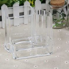 Brush/Lipstick/Makeup and Cosmetic Storage Boxes made of Clear Acrylic Plastic //Price: $12.96 & FREE Shipping //   #mua