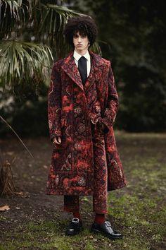 Beautiful men wearing Alexander McQueen in a London park | Dazed