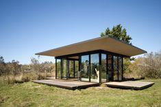 False Bay Writer's Cabin in San Juan Island, Washington by Olson Kundig Architects.