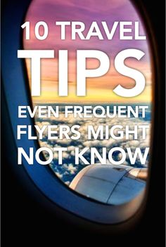 Travel is a daunting experience for most, but there are tricks you can use to make flying smooth and manageable. When booking flights, clear cookies and browsing history to keep prices stable. Choose flights on a specific jet that has fewer middle seats, and then book separate one-way flights so you can customize your travel dates easily. Use eBay's 10 travel tips to your advantage, and focus on enjoying the sights instead of getting out of the customs department.