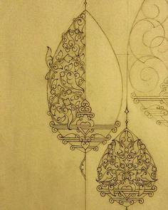Carpet Runners With Rubber Backing Madhubani Art, Madhubani Painting, Islamic Art Pattern, Pattern Art, Bleistift Design, Gothic Pattern, Illumination Art, Persian Motifs, Islamic Art Calligraphy